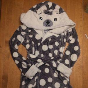 Justice Polar Bear Robe, Girls' 12/14